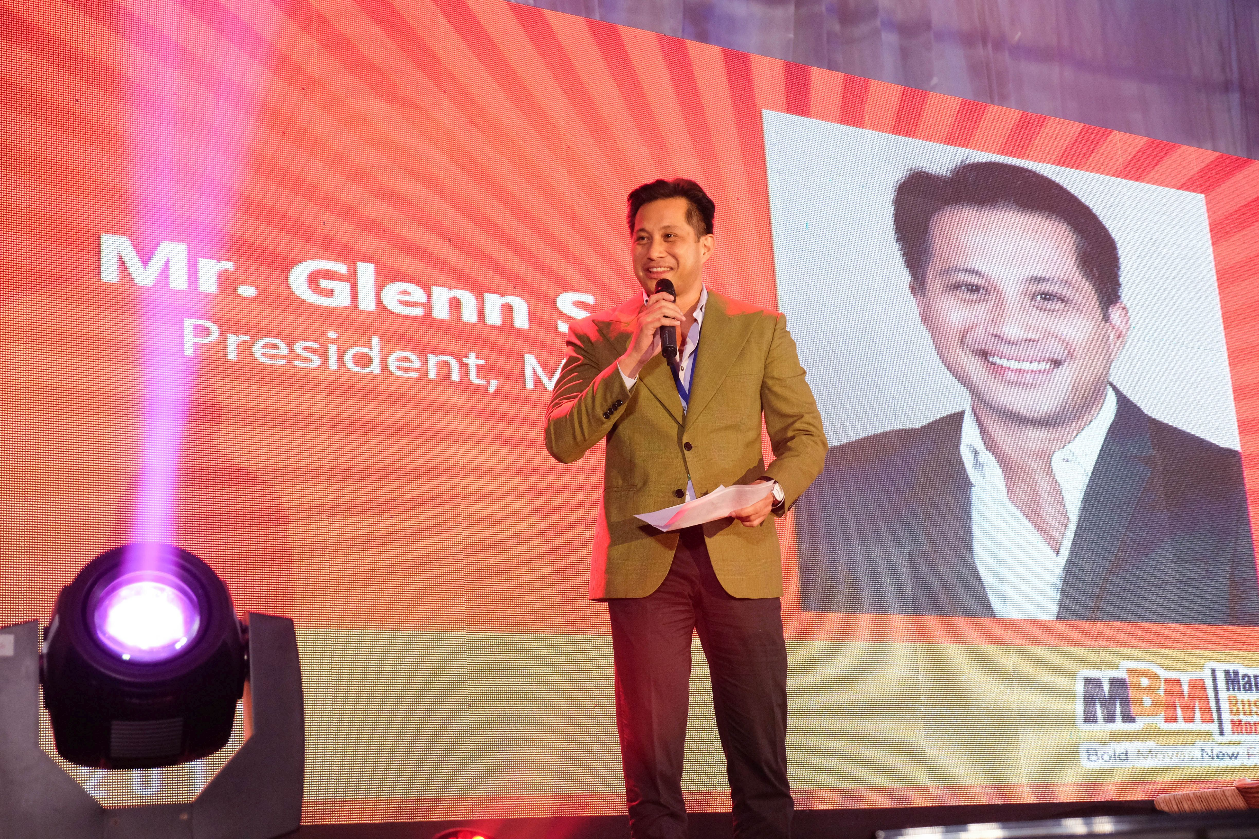 MCCI President, Mr. Glenn Anthony Soco